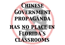 Chinese Communist Propaganda has no place in Florida Schools